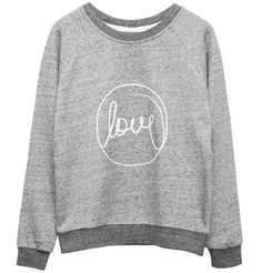 "Ganni ""Love"" Sweatshirt"