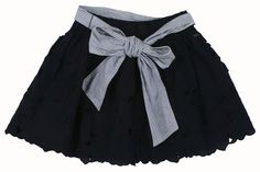 Striped Navy Blue skirt abercrombie & Fitch Womens Adriana Striped Navy Blue skirt Floral Lace Mini Skirt