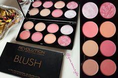 "Make Up Revolution London ""Sugar and Spice"" Ultra Professional Blush Palette ❤ #makeuprevolutionlondon #blush #palette #sugarandspice #makeup #beauty #cosmetics #blog #beautyblogger #igblogger #beautyblog #makeupblogger"