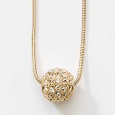 """Crystal Golden Shadow crystal; gold plating; 15"""" to 18"""". Can be worn on all of our pearl necklaces."""