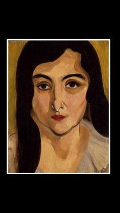 Henri Matisse - Lorette, 1917 - Oil on panel - 34,9 x 26,5 cm