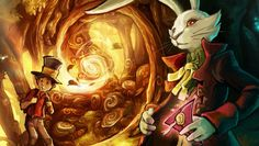 The Night of the Rabbit Hopes And Dreams, Fangirl, Video Games, Rabbit, Sketches, Fandoms, Neon Signs, Night, Drawings