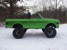 71 Green K/5 Blazer