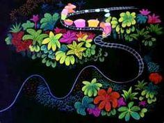 concept art for Disney's Saludos Amigos, by Mary Blair