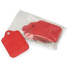 Red Gift Tags - 3 3/4 x 2 3/8 - 50 Pack *** Want to know more, visit the site now : Christmas Gifts