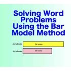 Looking for a great, concrete strategy to help your students break down word problems?  Using the Singapore Math Bar Model for solving word problem...