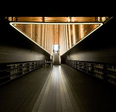 Matadero Film Library by CH QS [Madrid]. increible!!!!