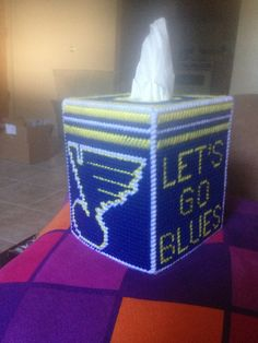 St. Louis Blues  www.facebook.com/groups/needlepointboxes