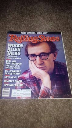 Check out this item in my Etsy shop https://www.etsy.com/listing/212743490/rare-find-woody-allen-rolling-stone-andy