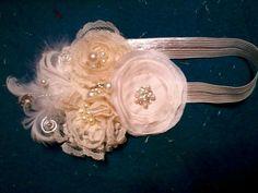 bautizos vintage | Hermosas Diademas Vintage Valerinas Niña Bautizo Pajes