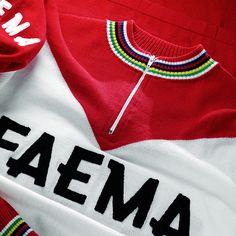 Eddy Merckx Faema vintage cycling jersey Cycling Jerseys, Jersey Shirt, Athleisure, Bicycle, Retro, Sweatshirts, Classic, Winter, Clothing