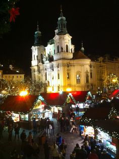 The Christmas Market At Pragueu0027s Old Town Square, ...