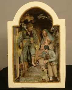Christian Images, Nativity Sets, Holy Family, Museum Of Fine Arts, A Christmas Story, Diorama, Holi, Cribs, Xmas