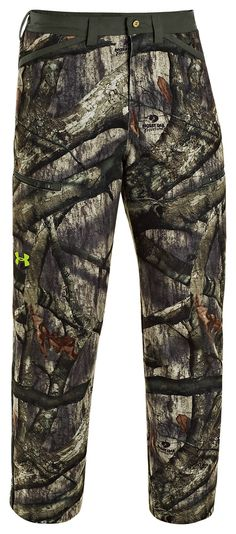 Under Armour® ColdGear® Infrared Scent Control Rut Pants for Men | Bass Pro Shops - $160 Mossy Oak Treestand