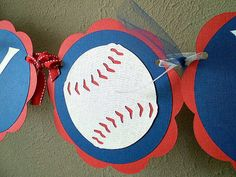Baseball Party Banners - Reserved for ANDREADIAZ6