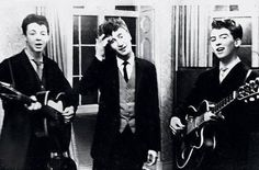 The Beatles played wedding receptions.