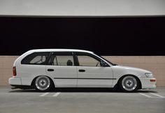 Corolla Wagon, Fox Body Mustang, Wagon Cars, Toyota Cars, Unique Cars, Love Car, Japanese Cars, Jdm Cars, Station Wagon