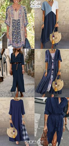 Summer Dresses Sale, Summer Dresses For Women, Trendy Dresses, Boho Outfits, Fashion Outfits, Kinds Of Clothes, Couture, Mode Inspiration, Street Style