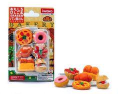 Iwako Japanese Eraser Set - Japanese Baked Goods Iwako http://www.amazon.com/dp/B0017YKP58/ref=cm_sw_r_pi_dp_ws8-tb1TVFAEH