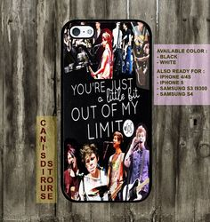 Five Second Of Summer photo Case for iPhone 4 case, iphone 4s case, iphone 5 case, Samsung galaxy S3 case. Samsung Galaxy S4 Case via Etsy