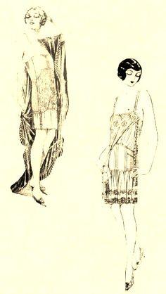 vintage women ilustration
