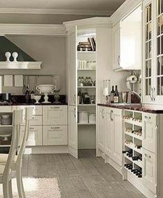 Stylish White Kitchen Cabinets Decor Ideas 33