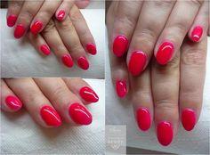 Manicure hybrydowy -  Energetyczna Czerwień