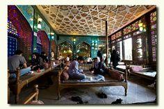 Traditional Tea House, Isfahan, Iran.