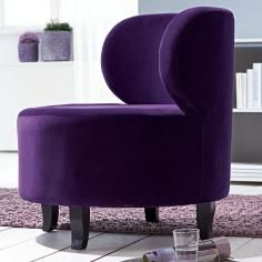 Violet Relaxation - Violet Chair in the round.