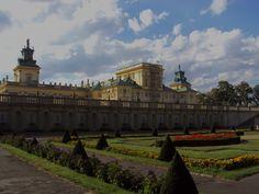 Blog w zasadzie ogrodowy: Wilanowskie ogrody - ogród barokowy