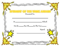 star student of the week award certificate Printable Certificates, Award Certificates, Certificate Templates, Kids Awards, Student Awards, Student Of The Month, Star Of The Week, How To Make Resume, Education World