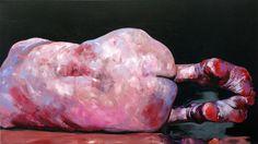 Reverse, acrylic on canvas, 90 x 160 cm, 2011