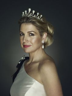 Princess Maxima, future Queen of The Netherlands (photo Erwin Olaf)