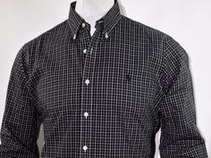 Polo Ralph Lauren plaid twill long sleeve shirt size medium new with tags  #PoloRalphLauren #ButtonFront