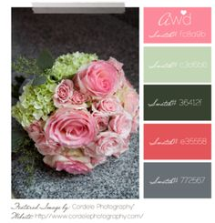 Pink and gray color palette add some navy then perfect