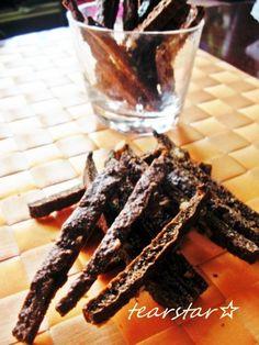 Crunchy! Cocoa Okara Sticks