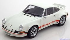 Strassen-Fahrzeuge GT Spirit 1:18 Porsche 911 2.8 RSR    weiß/rot Limited Edition 504 pcs. www.modelissimo.de