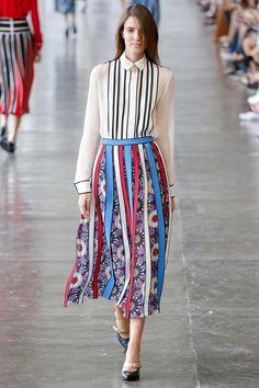 Arabesque inspired skirt   Reinaldo Lourenço São Paulo Fall 2016 Fashion Show