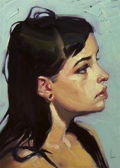 "Daily Paintworks - ""Loops"" - Original Fine Art for Sale - © John Larriva"