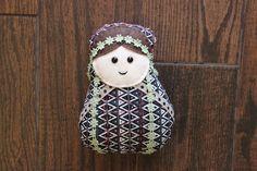 Boho Matryoshka Nesting Doll Plush by uniqueextras on Etsy https://www.etsy.com/listing/236064946/boho-matryoshka-nesting-doll-plush