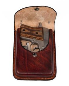Custom Made Concealment Pouch For Small Revolvers And 380'S.