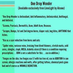 No wonder....One Drop Wonder!  https://www.facebook.com/NikkiIncLimeLight      www.LimeLightbyAlcone.com/NikkiInc