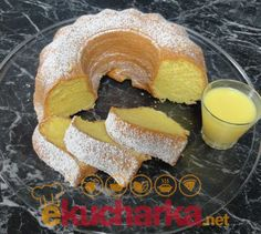 Bunt Cakes, Pound Cake, Bagel, Doughnut, Sweet Recipes, Ham, Good Food, Sweets, Lunch
