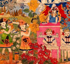 the vivian girls by henry darger