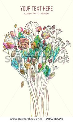 Wildflowers Isolated Stock Photos, Images, & Pictures   Shutterstock