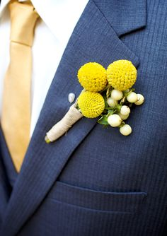 Billy Buttons and Berries.