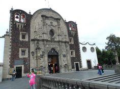 Capela do Cerro. De lá se avista a  Basílica de N Sra de Guadalupe,cidade do México. Foto : Cida Werneck
