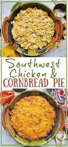 Gluten Free Cereal, Gluten Free Flour Mix, Gluten Free Pie, Jalapeno Cheddar Cornbread, Southwest Chicken, Cornbread Mix, Shredded Chicken Recipes, Good Enough To Eat, Tarts