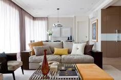 Uma decoração acolhedora. Veja: http://casadevalentina.com.br/projetos/detalhes/feito-para-acolher-554 #details #interior #design #decoracao #detalhes #decor #home #casa #design #idea #ideia #charm #charme #casadevalentina #livingroom #saladeestar