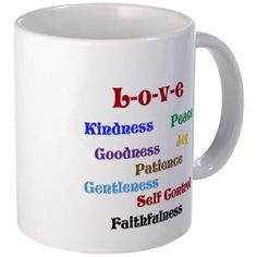 Fruit of the Spirit - Love Mugs on CafePress.com